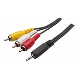 4-Cabo-P2-X-Av-3-Rca-Tv-Led-Gps-Dvd-Receptores-Audio-Video
