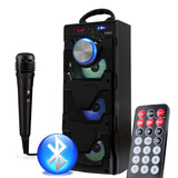 Caixa-Som-Portatil-Bluetooth-Mp3-Usb-Microfone-Potente-E12