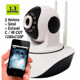 Camera-Ip-1_3-Mp-Alta-Resolucao-Hd-720-P2p-Noturna-Wireless