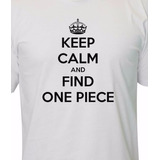 Camisetas-Keep-Calm-One-Piece-|-Anime