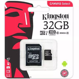 Cartao-De-Memoria-32gb-Classe-10-Kingston-Original-Micro-Sd
