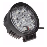 Farol-Led-Milha-Redondo-27w-Troller-Jeep-12v-24v-Off-Road