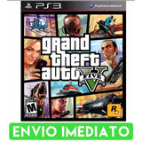 Gta-5-V-Ps3-Grand-Theft-Auto-Cod-Psn-Envio-Imediato