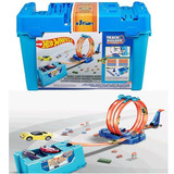 Hot-Wheels-Balde-Completo-Track-Builder-Multi-Loop-Mattel