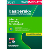 Kaspersky Internet Security Para Android 1 Dispositivo 1 Ano
