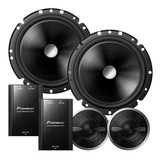 Kit-2-Vias-Pioneer-Ts-c170br-Woofer-6-Pol-120w-Rms-Crossover