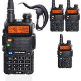 Kit-4-Radio-Ht-Uv-5r-Comunicador-Baofeng-Dual-Band-Airsoft