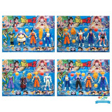 Kit-Cartela-4-Bonecos-Dragon-Ball-Z-Sortido-Goku-Vegeta-A221