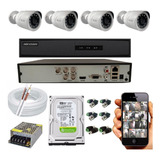 Kit-Completo-Full-Hd-Hikvision-Hilook-4-Cameras
