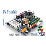Kit-Placa-Mae-Msi-Core-2-Duo-3_0-Ghz-_-4gb---Completo
