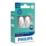 Lampada-Philips-Pingo-Ultinon-Led-6000k-W5w-T10-Super-Branca