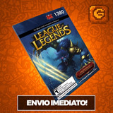 League-Of-Legends-Lol---Cartao-1380-Riot-Points-Rp-Br-Brasil