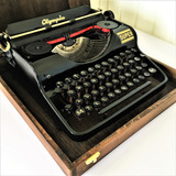 Maquina-Escrever-Datilografia-Olympia-Super-1938-Germany