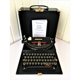 Maquina-Escrever-Datilografia-Remington-Rand-Model-5-T-1938
