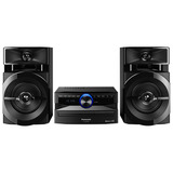 Mini-System-Panasonic-250w-Bluetooth-Cd-Usb-Sc-akx100lbk