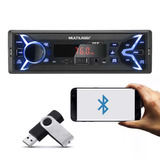 Mp3-Player-1din-Usb-Radio-P3336p-New-One-Fm-Bluetooth-Carro