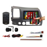 Multimidia-Android-Bluetooth-Dvd-Honda-Civic-2007-2008-2009-2010-2011-_-Receptor-De-Tv-E-Camera-De-Re