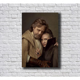 Placa-Decorativa-Star-Wars-Luke-E-Leia-Foto-Mdf