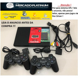 Playstation-2_-2-Controle-_-1-M_card-_-Pen-Driver-32gb-opl_