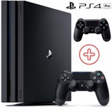 Playstation-4-Pro-Sony-1tb-Ps4-4k-Bivolt-2-Controles