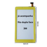 Tela-Touch-Screen-Tablet-Dl-Futura-T8-Tx391-Tx-391-Amarelo