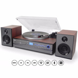 Toca-discos-Aria-Raveo-Sistema-Hi-fi-Cd-Player-Usb-Bluetooth